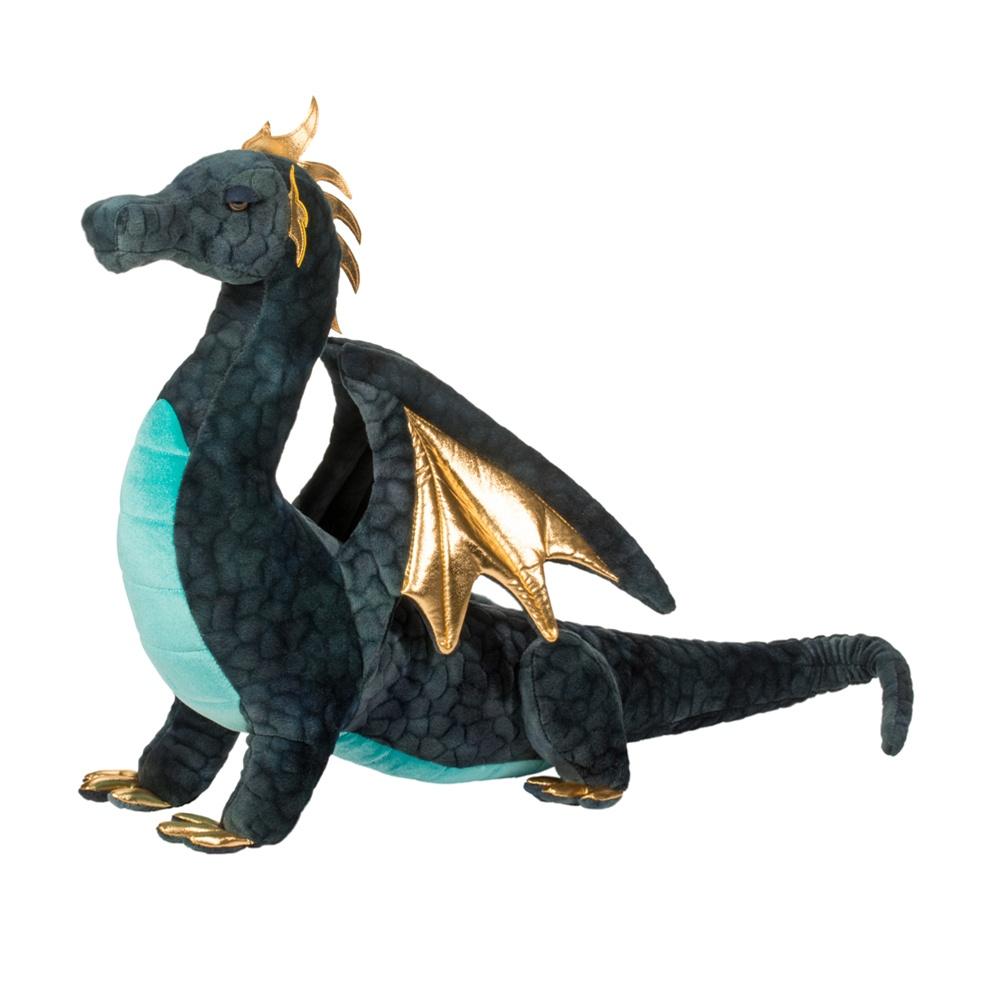 Aragon Large Navy Dragon - Douglas Toys 507019625