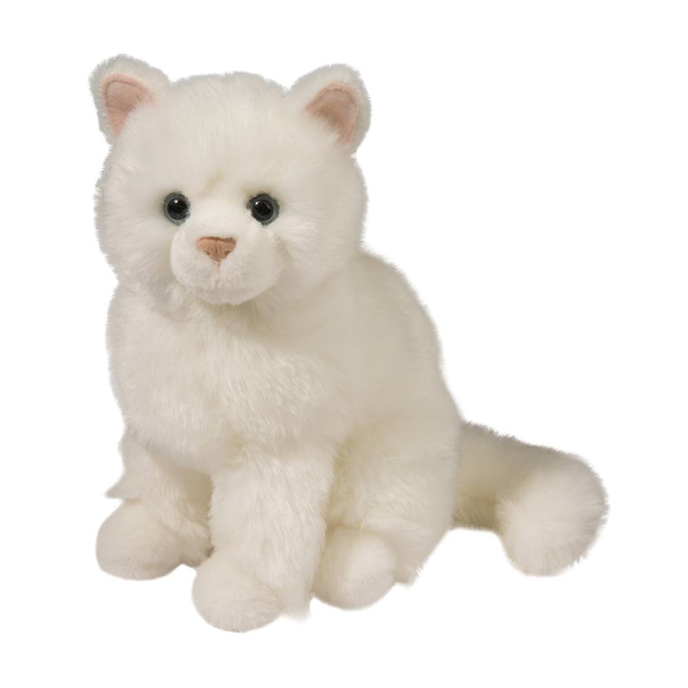 Snowball White Cat Douglas Toys