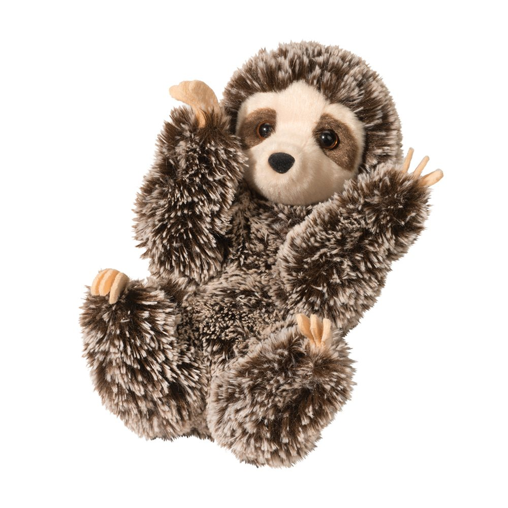 Chaz Sloth Adorable Sloth Stuffed Animals Douglas Cuddle Toys