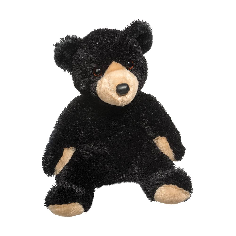 Bjorn Black Bear Pudgie Douglas Toys