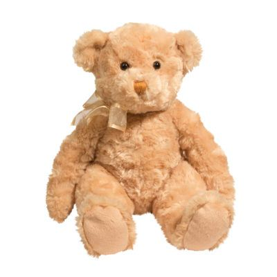 ultra soft golden brown teddy bear.