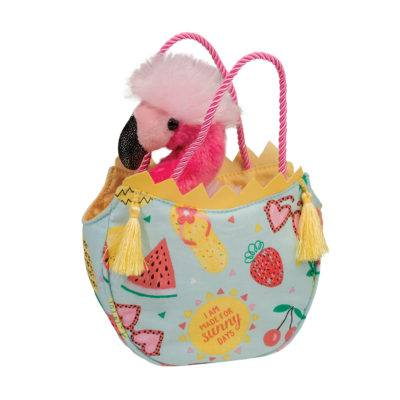 """Pink Narwhal Sak Purse with  Removable Narwhal 7/"""""""