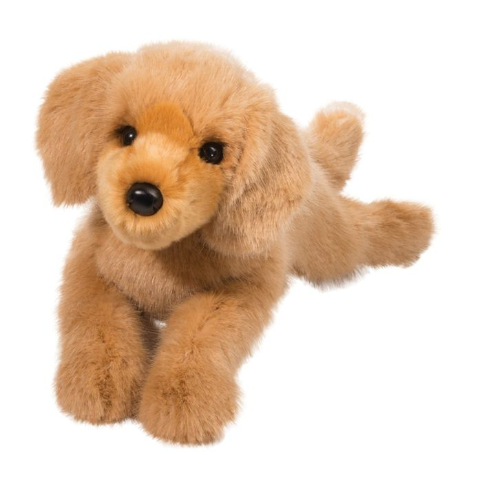 golden retriever stuffed animal dog.