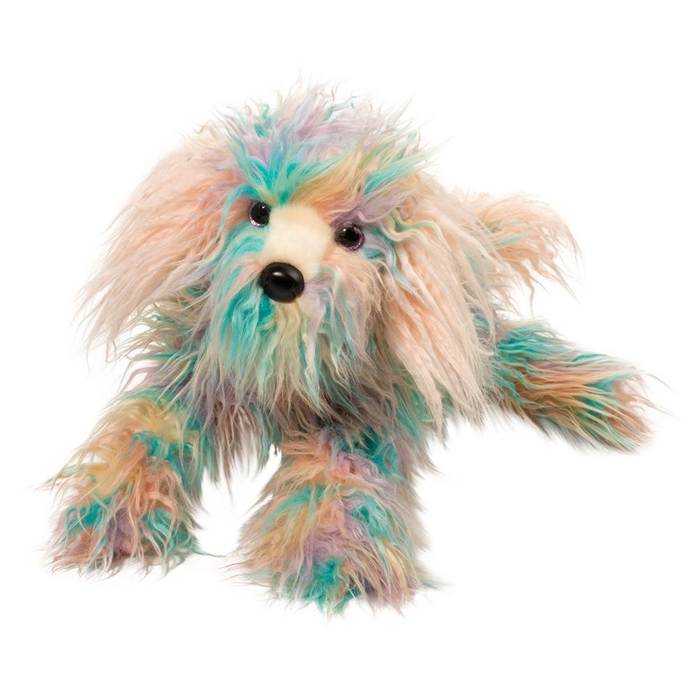 Jaxton DLux Rainbow Sheepdog Fuzzle, Medium