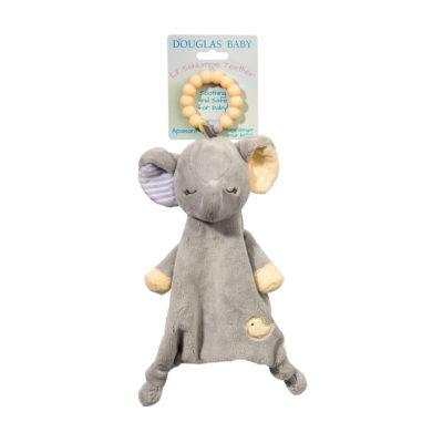 elephant baby teether lovie