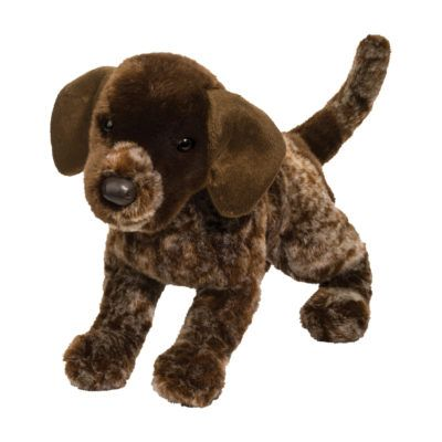 German Pointer Plush Dog