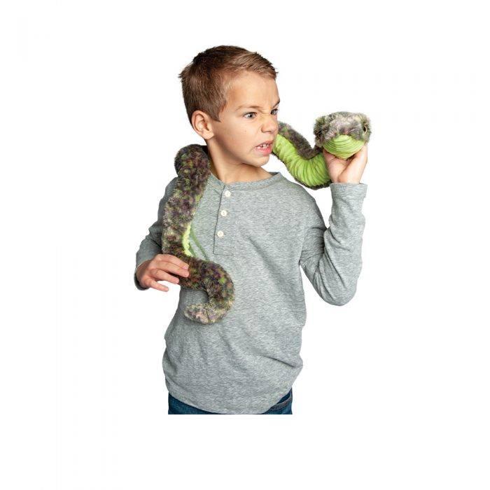 Soft plush stuffed animal snake!