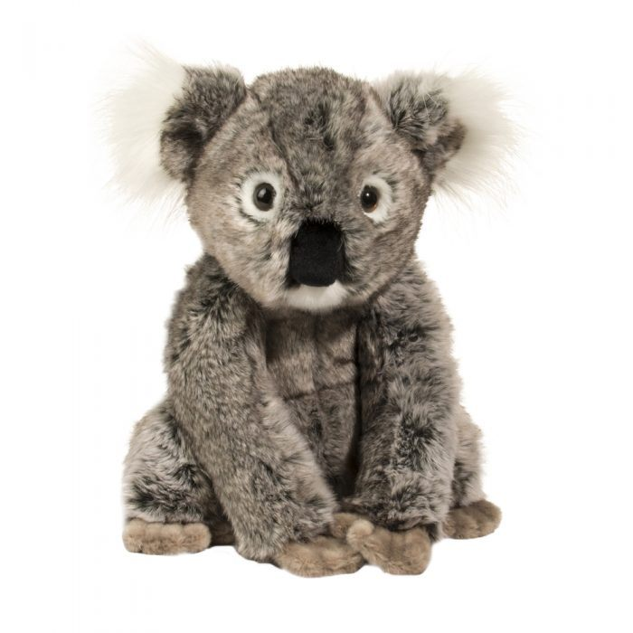 Large soft koala bear stuffed animal. Made from deluxe materials.