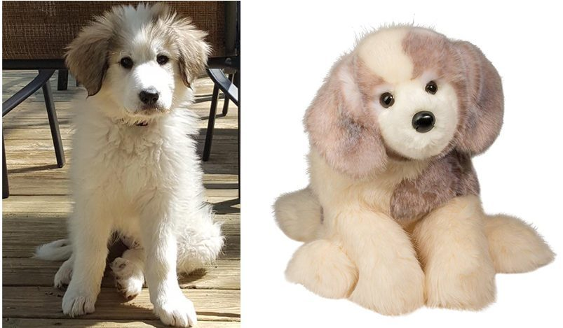 Great Pyrenees Stuffed Animal Dog