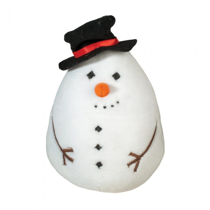 squishy snowman plush.
