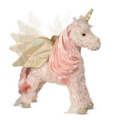 Light up with magical sound stuffed animal unicorn!