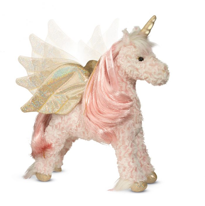 Light up with magical sound stuffed animal unicorn!