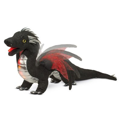 Light up stuffed animal dragon.