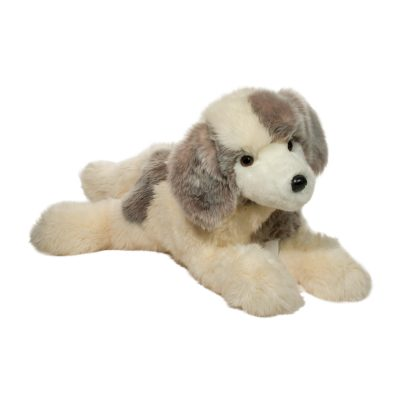 Great Pyrenees stuffed animal large dog.
