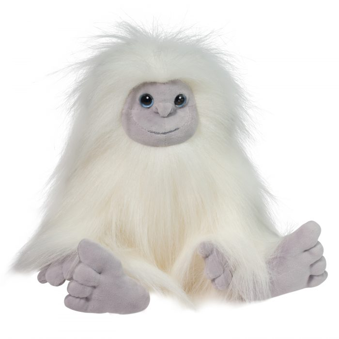 DLux white stuffed animal Yeti!