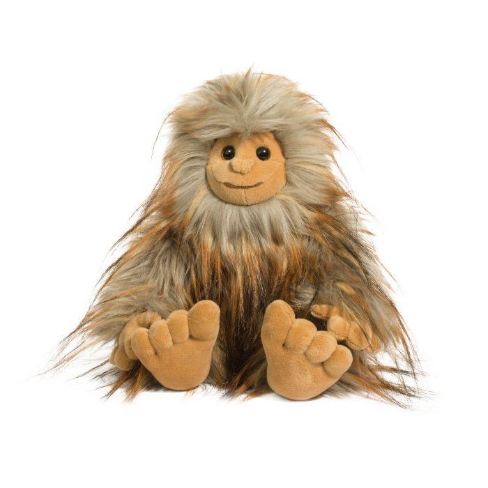DLux plush sasquatch stuffed animal.