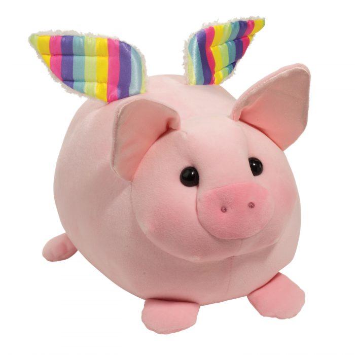 squishable flying pig stuffed animal!