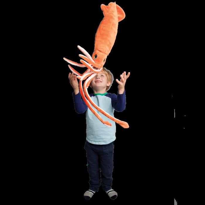 squid stuffed animal
