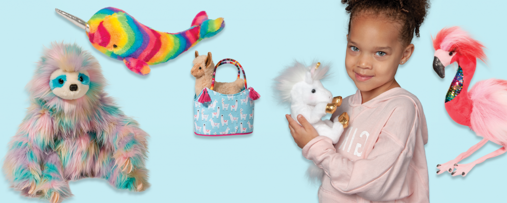 trendy stuffed animal gifts for kids