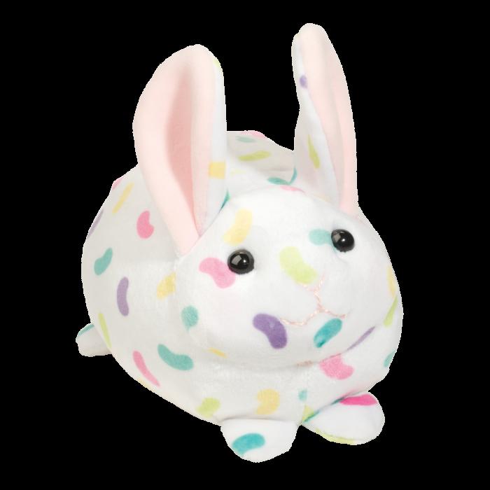 colorful jelly bean macaroon squishy bunny! easter stuffed animal bunny