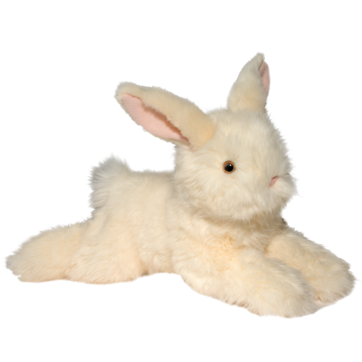 peaches sweet off cream floppy bunny stuffed animal
