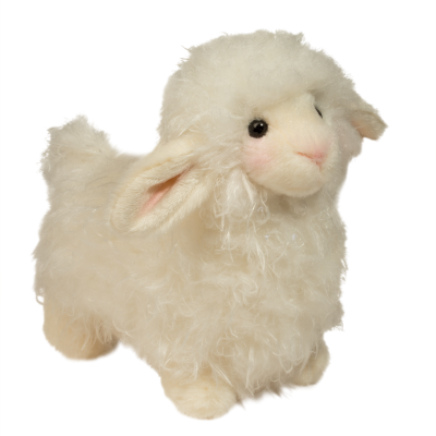 large cuddly lamb stuffed animal