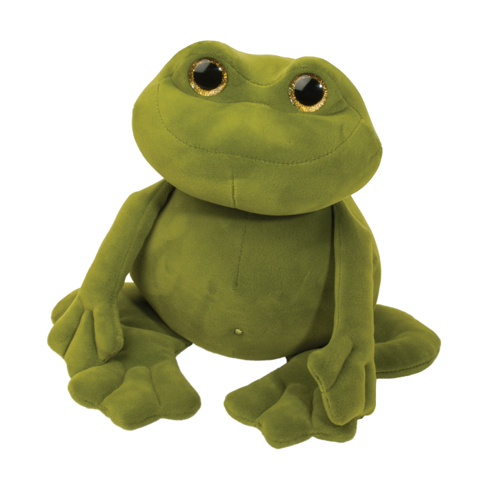 green frog squishy stuffed animal