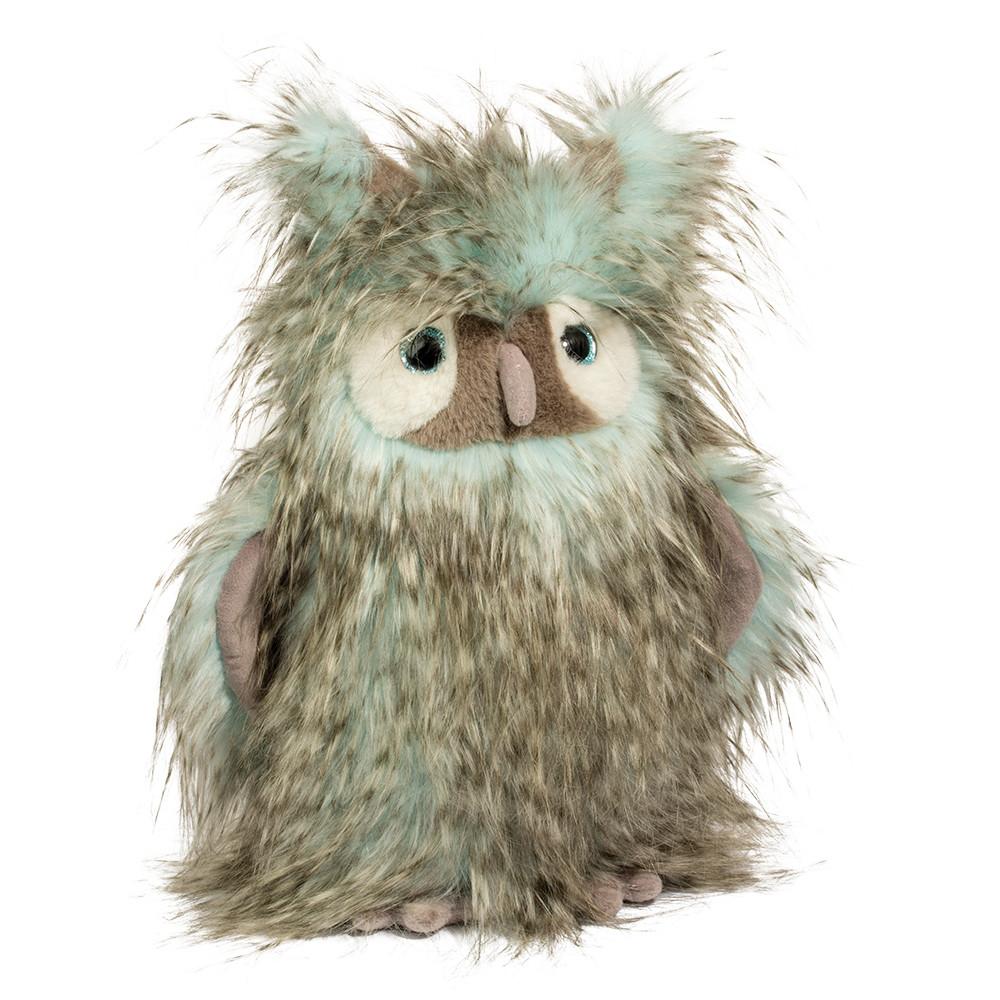 Douglas Cuddle Toys Sshlumpie Aqua Owl
