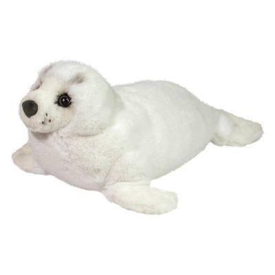 Deluxe stuffed animal seal