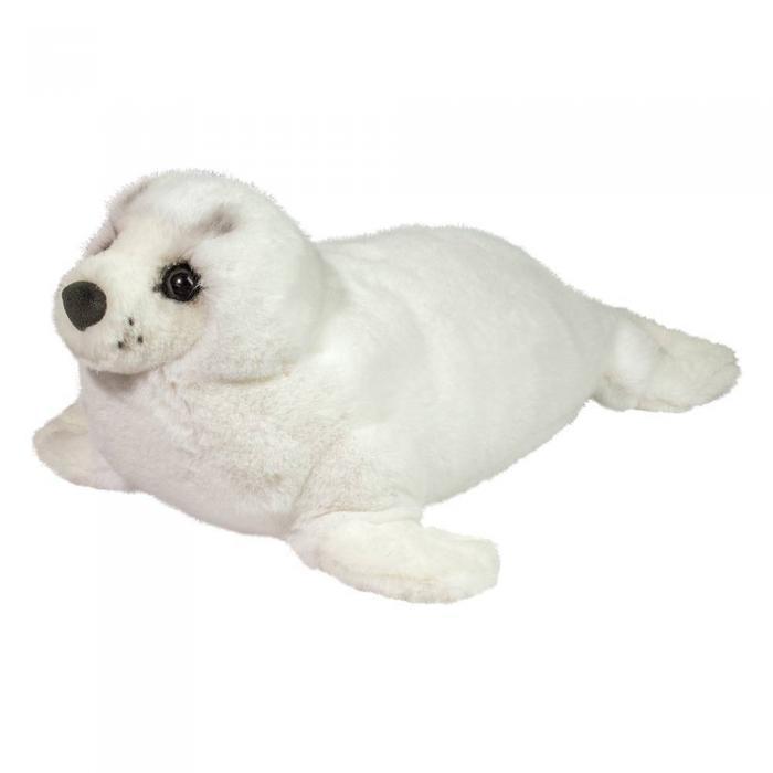 Deluxe stuffed animal seal