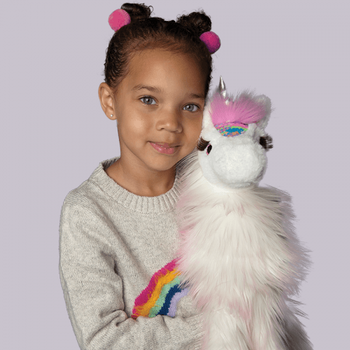 Shop trendy gifts for girls! Unicorns with sequence flips.